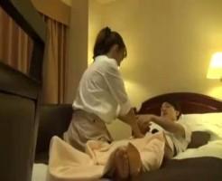 【真琴】美人マッサージさんと盗撮風マッサージエッチ! ero-video女性向け