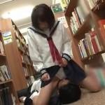 静かな図書館で本棚に隠れてこそこそエッチ!絶対絶対ばれるって! pornhub女性向け動画