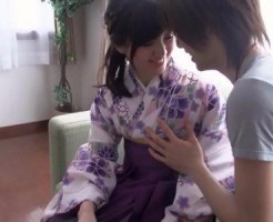 【タツ】振袖姿の彼女が可愛良すぎて着衣でラブエッチしちゃうラブラブカップル! xvideos女性向け動画