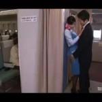 【阿川陽志】勤務中だからダメです。フライト中の飛行機でイチャイチャしちゃうこそこそエッチ! ero-video女性向け動画