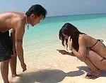 【阿川陽志。南佳也】常夏ビーチでエロメン2人にたっぷりの愛撫と激しめピストン3Pエッチ! 女性向け動画【無修正】