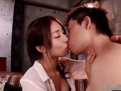 【玉木玲】濃厚キスからお互いの気持ちいい場所をじっくり攻め合う濃厚セックス! pornhub女性向け動画