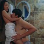 バスルームでちょっと強引にエッチしちゃうイケメン彼氏! pornhub女性向け動画