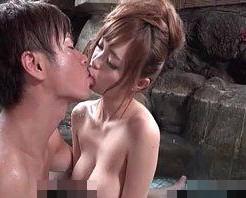 【小田切ジュン】貸切露天風呂で火照った体をからみ合わせながらのお風呂エッチ! xvideos女性向け動画