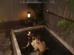 【タツ】2人っきりでの露天風呂でもう我慢できなくなってセックスしちゃうお風呂セックス! ero-video女性向け動画