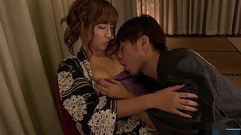【小田切ジュン】浴衣姿でじっくり愛し合う快感スローセックス!【無修正】
