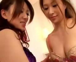 【レズ】スレンダーなお姉さんがねっとり愛し合っちゃう快感エッチ!