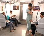 【小田切ジュン】欲求不満なお姉さんが電車で痴漢された男性と駅のトイレで激しいセックス! 女性向け無料アダルト動画