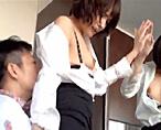 【志戸哲也】鏡の前で立ちバック!「イクッ!」ってアクメしてるのに何度も攻めてくるSなエロメンにハマっちゃうラブエッチ! 女性向け無料アダルト動画