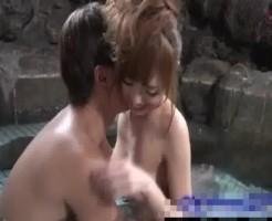 マッチョイケメン♡露天風呂でいちゃいちゃエッチ♡Xvideos女性向け