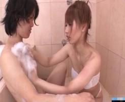 お風呂で黒髪イケメンをたっぷりご奉仕! xvideos女性向け【無修正】