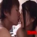 彼氏と濃厚なキスを交わしながらのラブラブエッチ!いつも以上に感じて巨乳も淫らに揺れ動く!