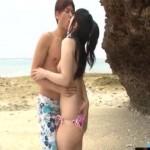 【小田切ジュン】開放感たっぷりの真夏のビーチで潮風浴びながらイチャラブ野外エッチ! xvideos女性向け動画【無修正】