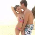 【小田切ジュン】誰かきちゃう。と恥ずかしがる彼女とビーチでエッチ! xvideos女性向け動画【無修正】