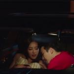 キスから車で求め合う韓国カップル、我慢できずに車内で騎乗位エッチ 女性向け無料アダルト動画