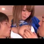 舐められるのが好きなギャル系女子が3人で複数プレイ!おっぱいを両方から舐められて、感じやすくなった体を手マンされて潮吹き!【無修正】【阿川陽志 小田切ジュン】