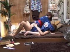 【タツ】彼女とのラブエッチをちゃっかり盗撮しちゃうイケメン彼氏! pornhub女性向け動画