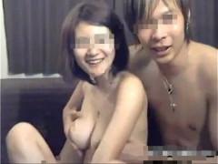 【本物素人】茶髪の彼氏と巨乳彼女が自宅でイチャついたりセックスする様子をおさめたリベンジポルノムービー流出 女性向け無料アダルト動画