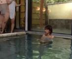 混浴のある温泉旅館にやってきたギャル系お姉さんがロビーで男に目をつけられ、温泉内で痴漢。慌てて逃げてもついてこられて無理やりレイプ! 女性向け無料アダルト動画