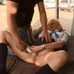 【マジックミラー号】ついにヨーロッパ上陸!金髪ブロンド美女が街中のスケスケ車内で電マ責めに喘ぎまくり!