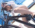 【マジックミラー号】子持ち妻が新しいマッサージ機だと改造されたドスケベ自転車に乗せられて…