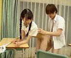 ラクロス部の三つ編み少女がイケメン同級生と放課後の教室でイチャイチャエッチ!【タツ】